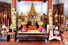 Королевский стиль комнаты Lanna Стоковая Фотография