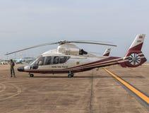 Королевский тайский самолет полиции Стоковое Фото
