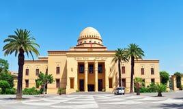 Королевский театр Marrakech стоковое изображение rf