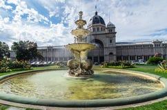 Королевское здание выставки в Мельбурне стоковые фотографии rf