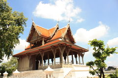 Королевское место в Бангкоке, Таиланде стоковые изображения