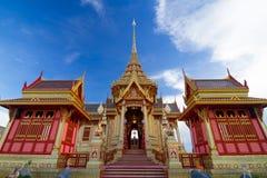 Королевское тайское крематорий Стоковое Изображение RF