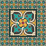 Королевское традиционное оформление дома мозаики Стоковые Фото