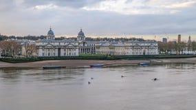 королевское greenwich london коллежа военноморское стоковое фото