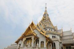 Королевское monastry в Chacheongsao, Таиланде стоковое фото rf