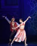 """Королевское  Nights†""""One тысячи и одного балета пар Стоковое фото RF"""