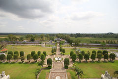 3 королевства парк, Паттайя Таиланд стоковые изображения rf