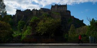 королевство соединенная Шотландия edinburgh замока Стоковые Изображения