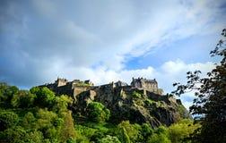 королевство соединенная Шотландия edinburgh замока стоковые фотографии rf