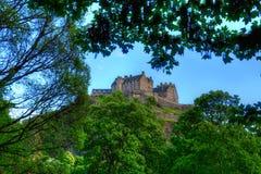королевство соединенная Шотландия edinburgh замока стоковая фотография