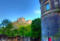 королевство соединенная Шотландия edinburgh замока стоковые изображения rf
