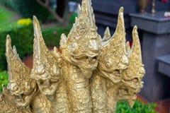 Король 5 голов nagas Стоковая Фотография RF