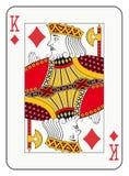 Король диамантов Стоковое фото RF