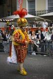 Король масленицы Notting Hill Лондона стоковая фотография rf