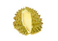 Король плодоовощей, дуриан изолированный на белой предпосылке Стоковые Фотографии RF