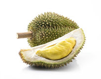 Король плодоовощей, durian Стоковое фото RF