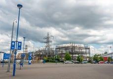 Король Сила Стадион на городе Лестера, Англии Стоковые Фотографии RF