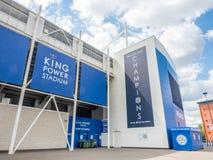 Король Сила Стадион на городе Лестера, Англии Стоковое Изображение