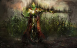 Король смерти Стоковые Фотографии RF