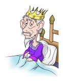 король старый иллюстрация штока