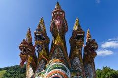 Король статуи nagas Стоковая Фотография
