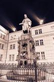 Король Статуя Стоковые Фотографии RF