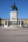Король Хосе Я Памятник в Лиссабоне Стоковые Фотографии RF