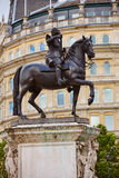 Король Чарльз квадрата Лондона Trafalgar i стоковые изображения rf