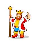 Король шаржа Стоковое фото RF