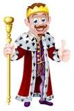 Король шаржа Стоковое Фото