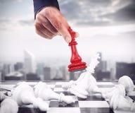 Король шахмат стоковая фотография rf