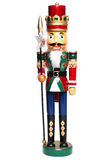 Король Щелкунчика рождества Стоковая Фотография RF
