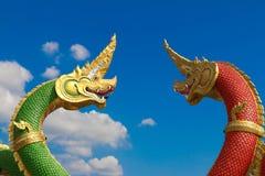 Король Naga - большой змейки Стоковые Изображения