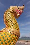 Король Naga золота Стоковое фото RF