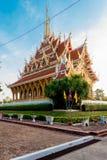 Король Nagas виска Таиланда Стоковое Изображение