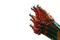 Король Nagas 6 головных, тайский дракон Стоковая Фотография