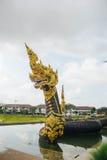 Король Nagas на виске Dhammayan Стоковые Изображения RF