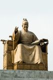 Король Sejong Стоковое фото RF