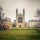 Короля Коллеж Молельня, Кембридж Стоковая Фотография RF