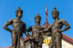 3 короля Памятник Стоковое Фото