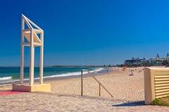 Короля Пляж На Caloundra Стоковые Фотографии RF