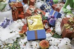 Короля Рождество Подарок Стоковое Изображение