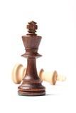 2 короля Шахмат Диаграмма Стоковое Фото