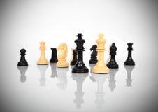 Короля шахмат Стоковые Изображения RF