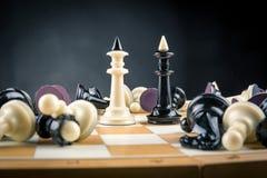 Короля шахмат Стоковые Фото