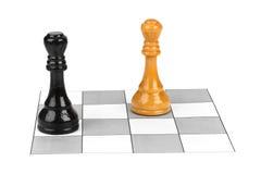 Короля шахмат Стоковые Изображения