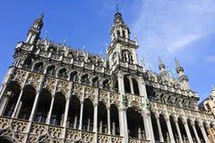 Короля Дом в грандиозном месте, Брюсселе Стоковое Фото