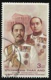Короля Chulalongkorn и Vajiravudh Стоковое Фото
