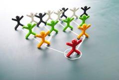 корпоративная иерархия диаграммы организационная Стоковые Фотографии RF