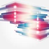 Корпоративная принципиальная схема с элементом самомоднейшей конструкции Стоковая Фотография RF